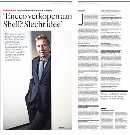2018-29-1 Het Parool interview Rotmans over Eneco