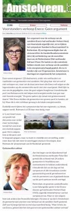 2018-2-2-Amstelveenblog.nl; Herbert Raat over symposium Aandeel in duurzaamheid Eneco 1 van 2