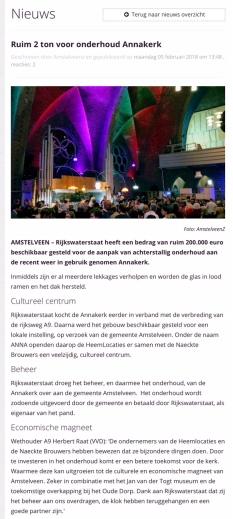 2018-5-2 Amstelveenz over Annakerk