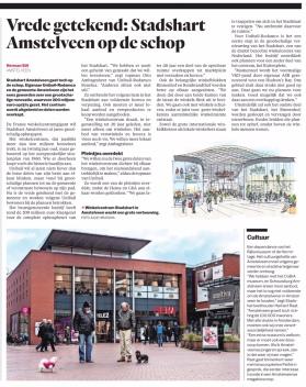 2018-13-2 Het Parool over Stadshart Amstelveen