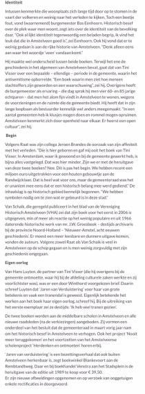 2018-23-2 AmstelveenBlog.nl over presentatie Jaren van Verduistering 2 van 2