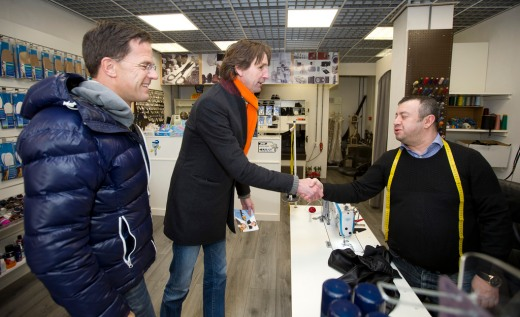 2018-Mark Rutte, Herbert Raat in Westwijk