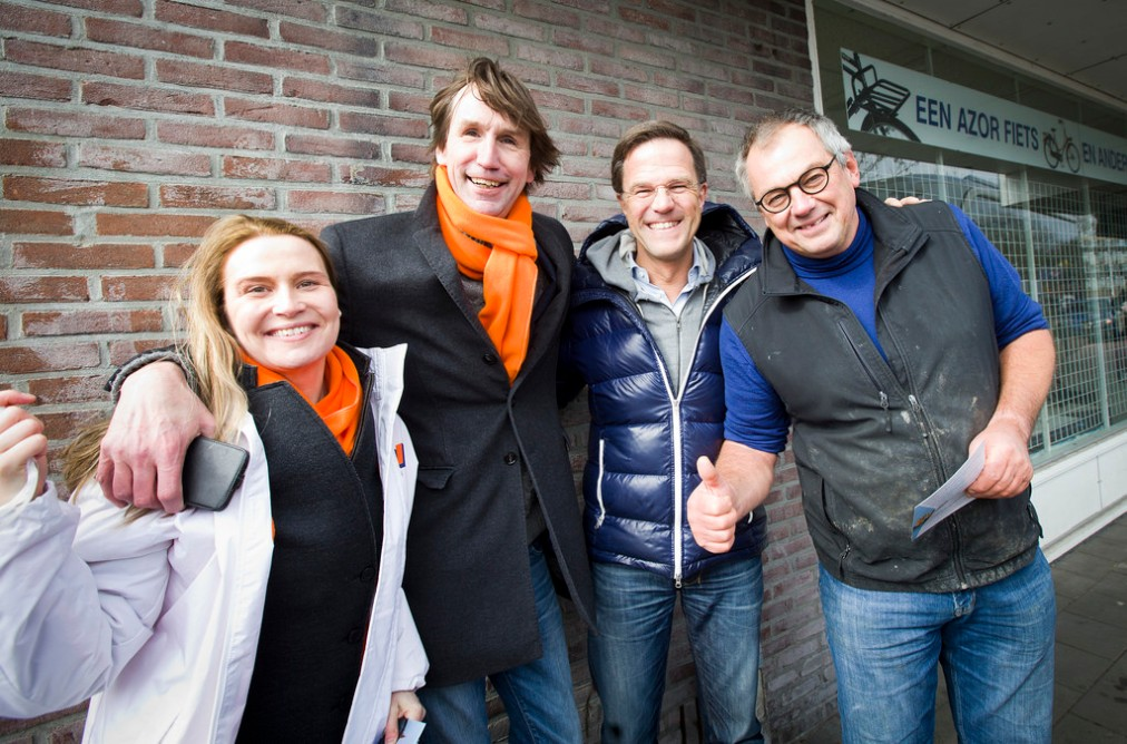 2018-Janneke leegstra, Herbert Raat, Mark Rutte en