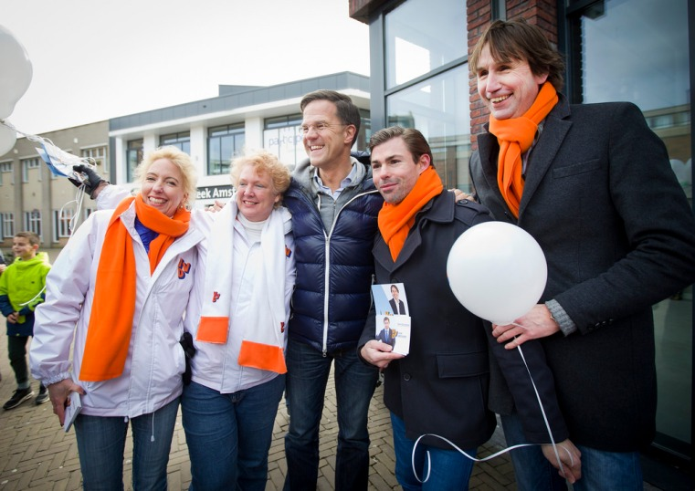 2018 Inza Gast, Petra Kirch, Mark Rutte Tom Coumans, Herbert Raat