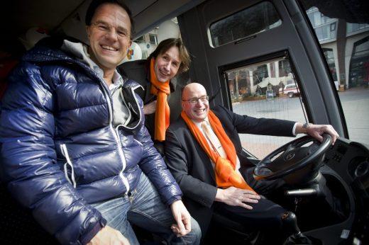 2018-Mark Rutte, Herbert Raat en Fred Teeven