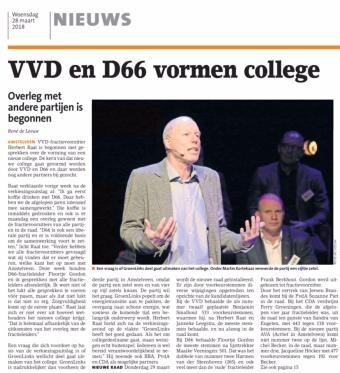 2018-28-3 Amstelveens Nieuwsblad: Herbert Raat over start formatie Amstelveen