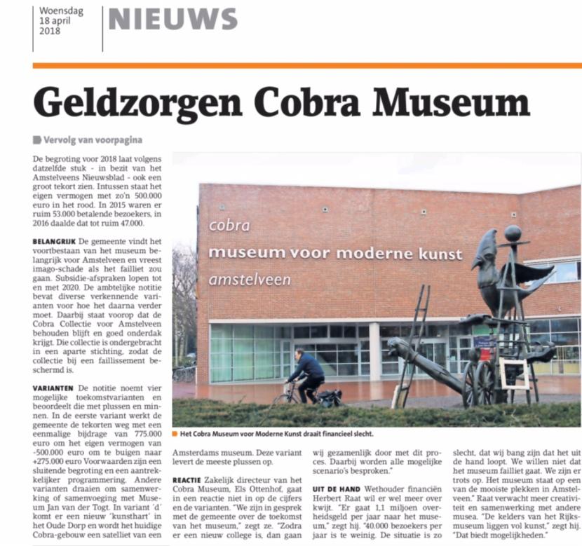 2018-18-4 Voorpagina Amstelveens Nieuwsblad 2-2