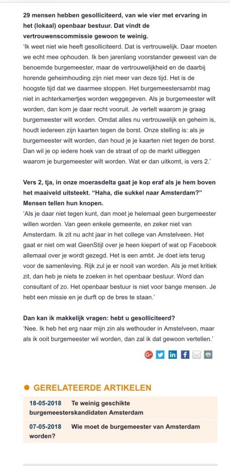 2018-22-5 Binnenlands Bestuur interview door Martijn Delaere met Herbert Raat over gekozen burgemeester 2 van 2