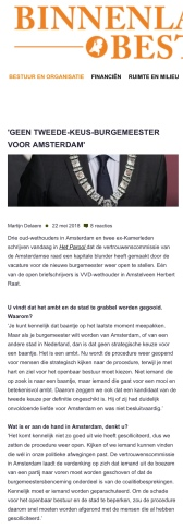 2018-22-5 Binnenlands Bestuur interview door Martijn Delaere met Herbert Raat over gekozen burgemeester 1 van 2
