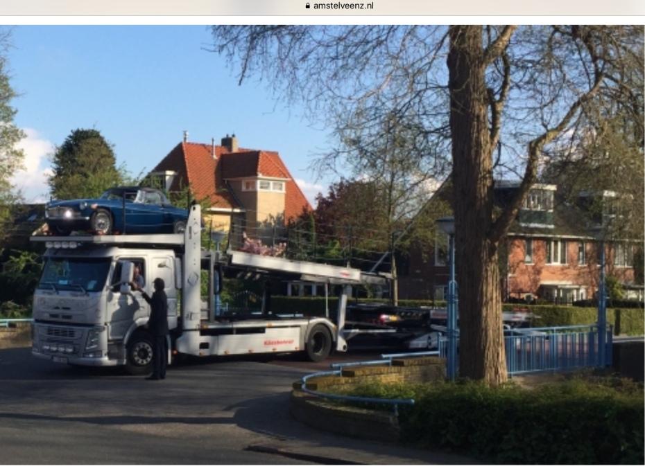 2018-Juni; Herbert Raat Oude Dorp vrachtwagen