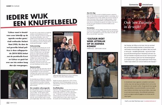 2018-PDF Amstelveenz:2018-Het Zwijnteje Amstelveen Tamara, Thomas, Floris, Olivier Meinesz en wethouder Herbert Raat