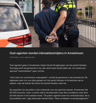 2018-13-11 NOS.NL: Herbert Raat over aanpak inbraken 1 van 2