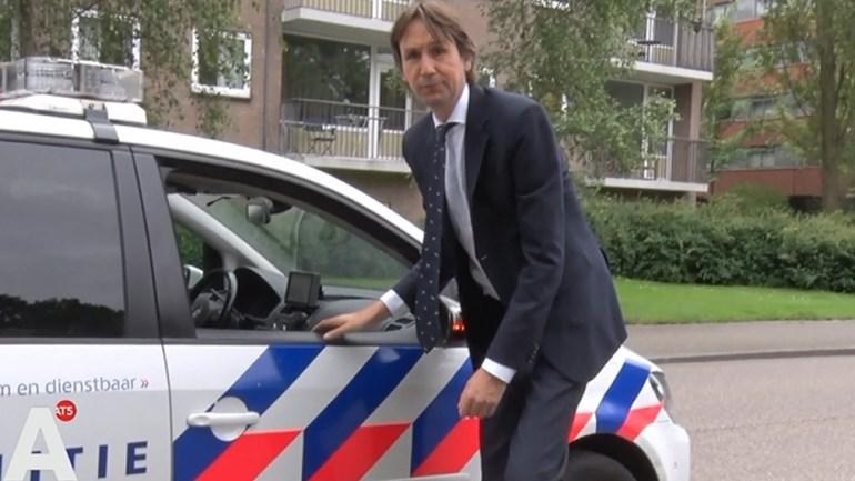 2018- Herbert Raat politie bij We are Here