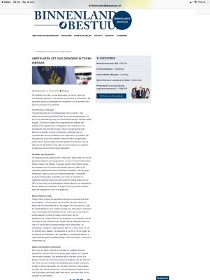 2018-13-11 Binnenlands Bestuur over aanpak inbraken Amstelveen
