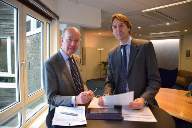 2018-burgemeester Bas Eenhoorn en wethouder Herbert Raat