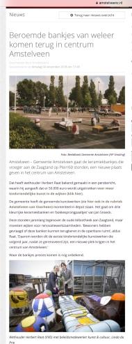 2018-AmstelveenZ: Herbert Raat over kunst van Jan Snoeck in Amstelveen
