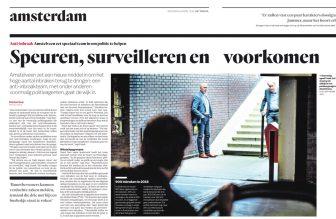 2019-24-4 Het Parool; Herbert Raat over voormalige politieagenten aan het werk in Amstelveen