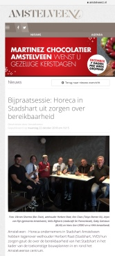 2018-22-10 Gesprek Horeca stadshart met Herbert Raat 1 van 2
