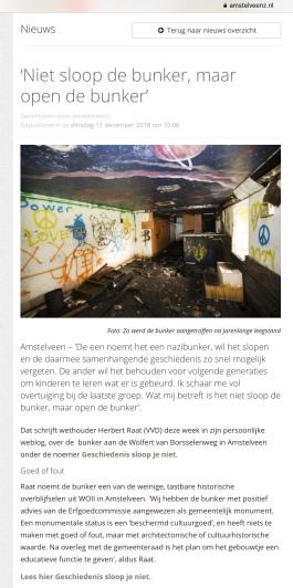 2018-12-12 AmstelveenZ over geschiedenis Amstelveen blog Herbert Raat