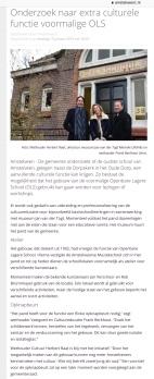 2019-15-2 Amstelveenz: Herbert Raat en Frank Berhout over educatieve functie oude school