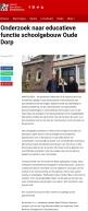 2019-16-2 RTVA: Herbert Raat en Frank Berhout over educatieve functie oude school