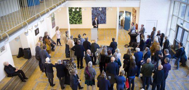 2019-Voormalige Jan Ligthartschool; Herbert Raat speech