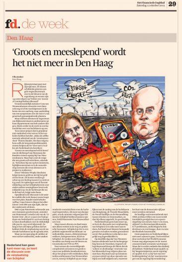 2019-12-10; FD Ulko Jonker over politiek Den Haag