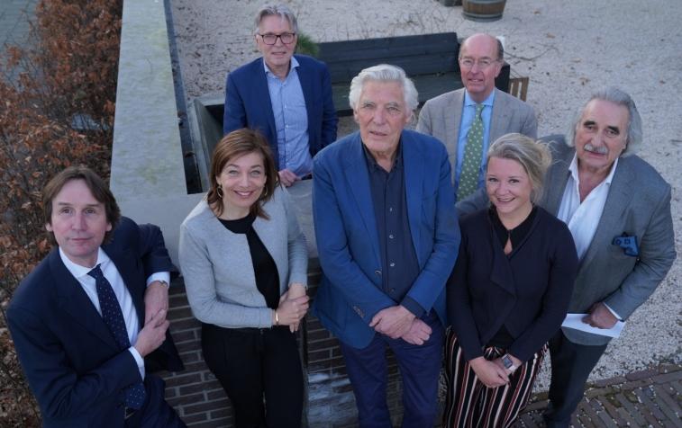 2019 cultuur adviesraad Amstelveen Herbert Raat, Cathelijne Broers, Wouter van der Schraaf, James Leyer, Bas Eenhoorn, Linda du Prie en Harry van den Bergh,