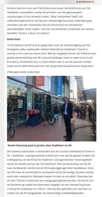 2019-26-3 Amstelveenz: Herbert Raat over komst Pathe 2 van 3