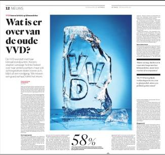 6-4-2019: het Parool; Herbert Raat, Menno Knip, Cees Loggen, Arjan Gerritsen, en anderen over de koers van de VVD