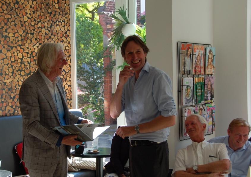 2019-Freek de Jonge en Herbert Raat in La Gare in Amstelveen