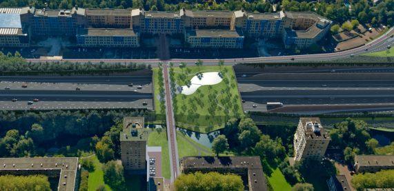 2019-overzicht overgang bij Oude Kmpg gebouw in 2025