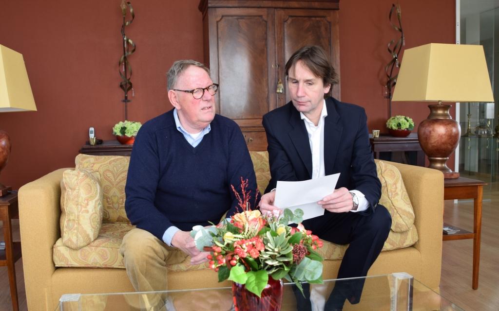 2018-Sander Kneppers VVE Westhove Amstelveen en wethouder Herbert Raat (1024x640)