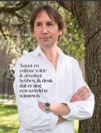 2019-september; UIT Magazine; Herbert Raat over kunst en cultuur in Amstelveen 1 van 4