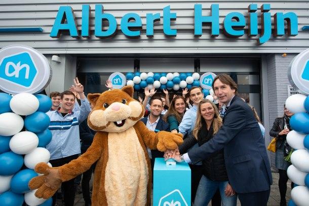 2019-opening Albert Hein Bovenkerk; Herbert Raat en Tamara Meinesz