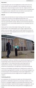 2019-8-10; Amstelveenz; Herbert Raat en Floor Gordon over koopwoningen bij Heilige Geestkerk in Amstelveen. 2 van 2.