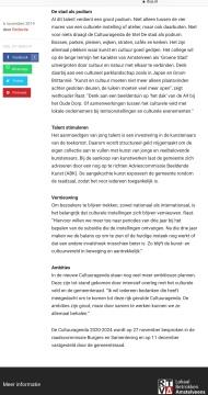 2019-6-11; RTVA; Herbert Raat over de cultuuragenda Amstelveen: de stad als podium 2 van 2