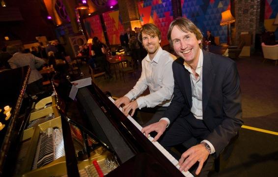 2020-pianist David Herman en Herbert Raat