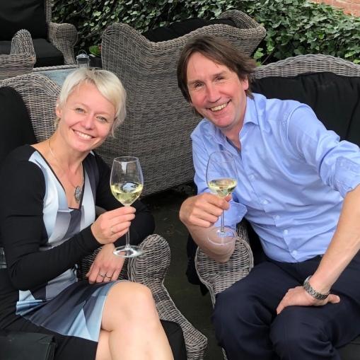 2019- Floor Gordon D66 en Herbert Raat VVD Amstelveen. 1 jaar samenwerking in college van B&W.