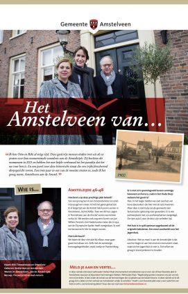 2020: nummer 2: Het Amstelveen van... Riki Timmermans, Otto Over en Herbert Raat