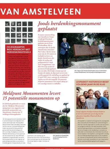 2020-Thema pagina Historisch besef Amstelveen; Herbert Raat 2 van 2
