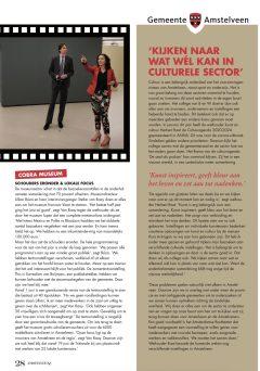 mei 2020; Amstelveenz: rondje cultuur tijdens coronacrisis Amstelveen met Herbert Raat 4-4