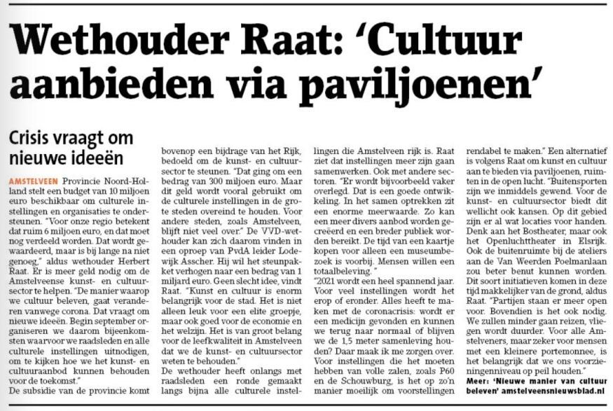 Bezoek aan museum Jan Amstelveen
