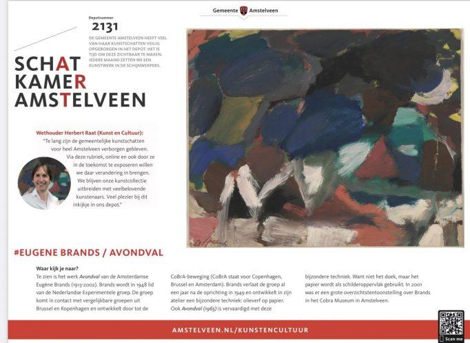 2020-november deel 1: Schatkamer van Amstelveen-Eugene Brands/Avondval-voorwoord Herbert Raat