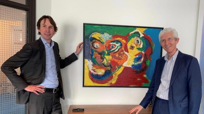 2020-Herbert Raat en Willem de Winter van tussen Kunst en Kitsch