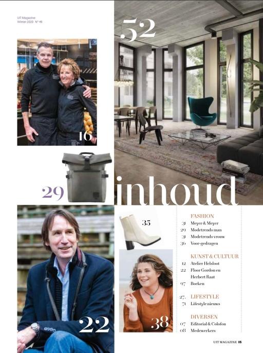 2020-december: Uitmagazine interview Floor Gordon D66 en Herbert Raat VVD over Beleef Amstelveen 1 van 4