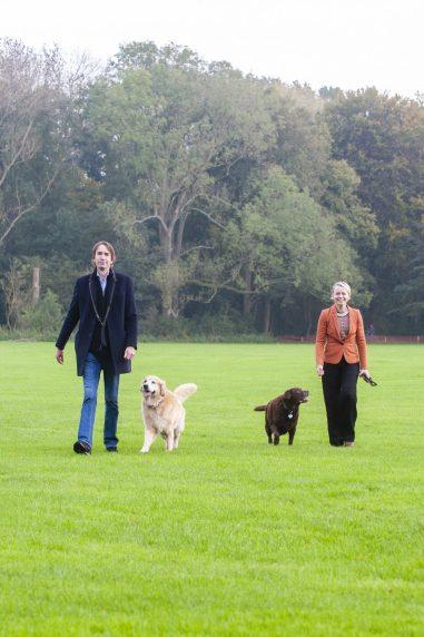 2020-Herbert Raat-James-Bibi en Floor Gordon in het Amsterdamse bos