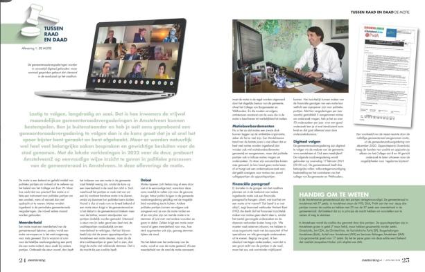 2021-Januari AmstelveenZ: Herbert Raat over de vele onderzoeken gemeenteraad en de kosten