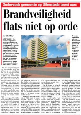 2-3-2020; De Telegraaf: brand in Uilenstede-Herbert Raat Cathelijne Immink en lisette Doornbos