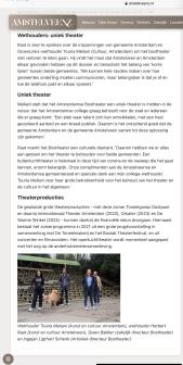 8-4-2021; Amstelveenz; Redding Bostheather Touria Meliani Herbert Raat, samenwerking Amsterdam en Amstelveen 2 van 2